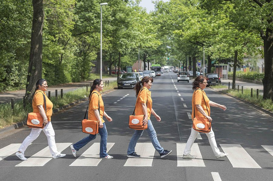 CarePool auf der Abbey Road